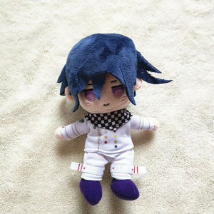 Image 4 - Anime Plush Doll Keyring Danganronpa V3 Dangan Ronpa Oma Kokichi Komaeda Nagito Cosplay DIY Handmade Material Plush Keychain Toy