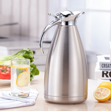 Stainless Steel Vacuum Insulation Pot Double-layer Home Office Kettle Kitchen Multifunctional Creative Insulated Tea Kettle eagle mouth stainless steel vacuum pot kettle black silver 1500m