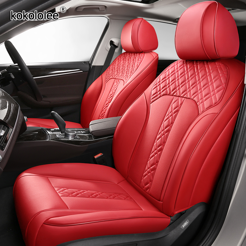 kokololee Custom Leather car seat covers For LEXUS LX570 LX500 LX450 RC300 RC200 UX200 UX260h UX250h Automobiles Seat Covers