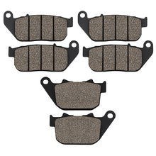 цена на Motorcycle Front Rear Brake Pads for Harley XL883 Sportster XL883R XL 883 Roadster 05-14 XL1200 XL1200R XL 1200 Sportster 04-08