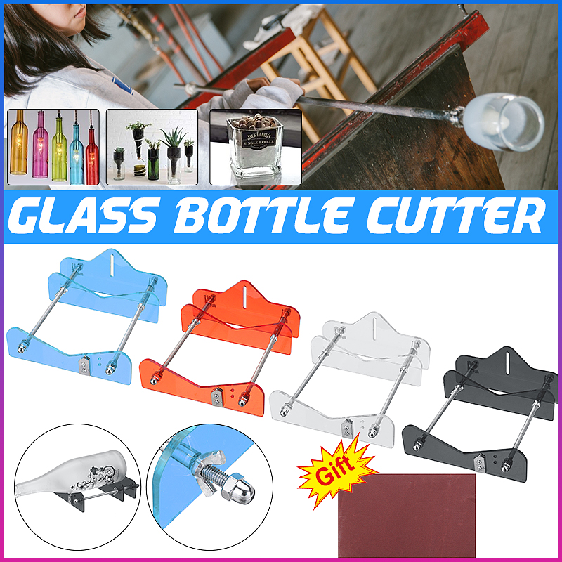 Glass Bottle Cutter Tool Professional For Bottles Cutting Glass Bottle-Cutter DIY Cut Tools Machine Wine Beer Jar  DIY Tool
