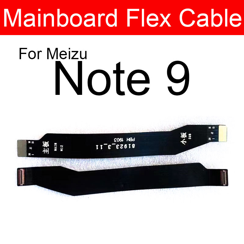 Mainboard Flex Cable For Meizu Note 9 M923Q Motherboard Connector Board Flex Cable Ribbon Replacement Parts