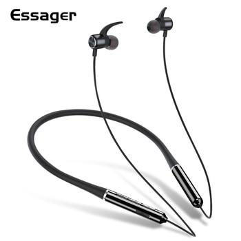 Essager-auriculares, inalámbricos por Bluetooth 5,0, auriculares internos deportivos manos libres con micrófono para teléfono inteligente