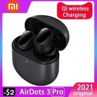 Xiaomi-auriculares Redmi Airdots 3 Pro versión Global, auriculares inalámbricos con Bluetooth, auriculares con cancelación de ruido ia de 35dB, 2021