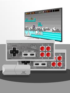 Video-Game-Console Controller TV Data Frog Retro Games Classic 8-Bit Potable Mini Built-In