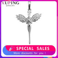 Xuping Fashion Charm Style Necklace Pendant of Human Shape for Women Girls Jewelry Black Friday Gifts S81,6-33357