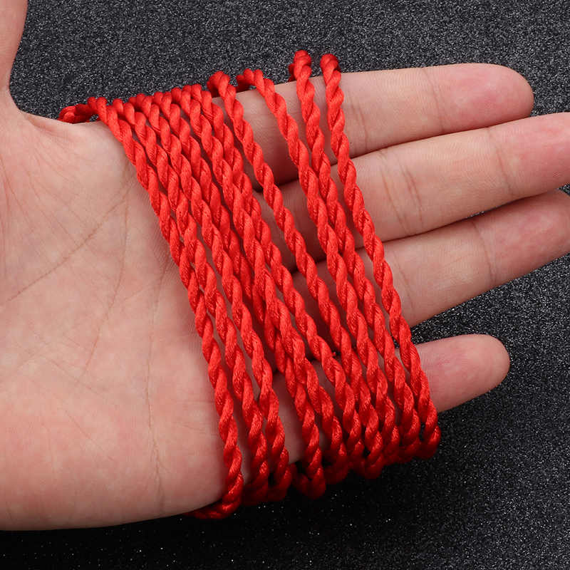 10 pcs red rope braided  bracelet ladies Lucky Handmade rope jewelry lovers gift Woven Bracelet Black rope bracelet Wristband
