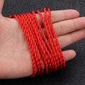 10 шт. красный плетеный веревочный браслет дамские счастливые ручной работы веревка украшения в подарок паре плетеный браслет черный брасле...