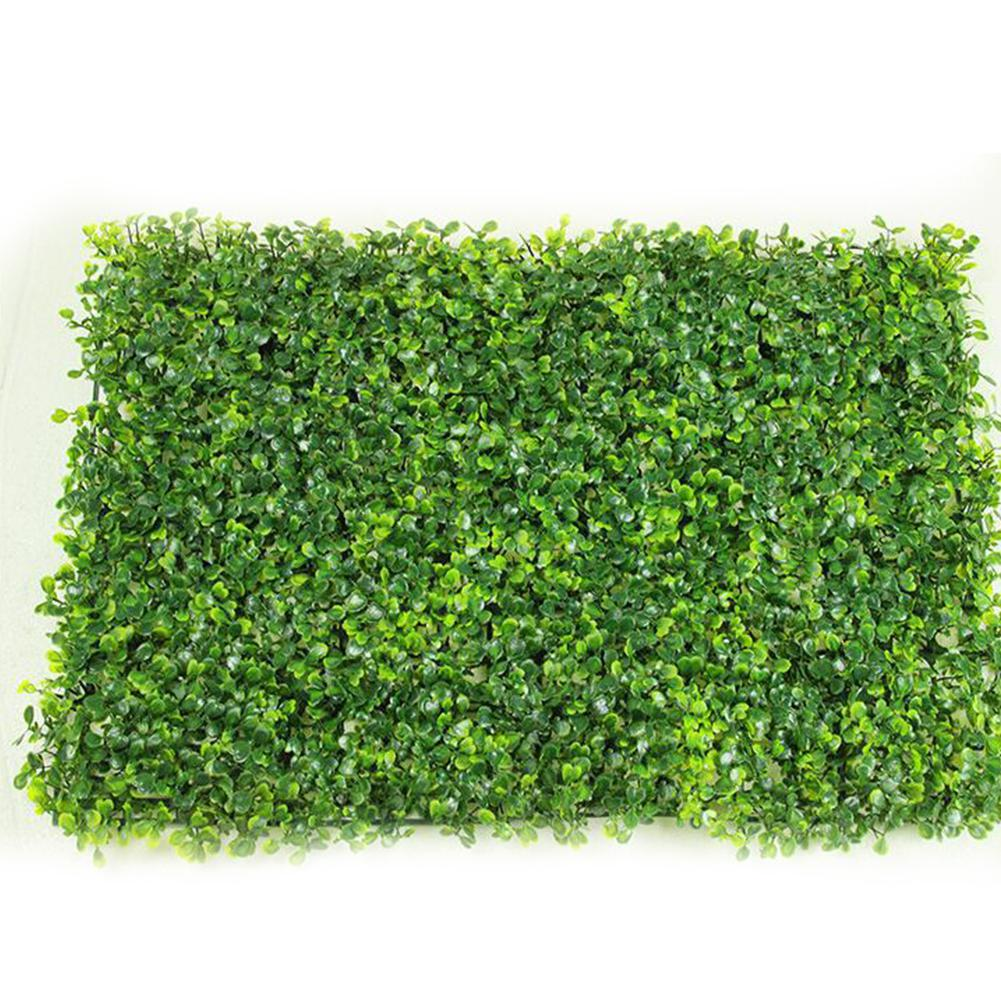 1pc 40*60cm Artificial Grasses Plants Wall Fake Lawn Faux Milan Leaf Grass Artificial Foliage For Home Garden Decor Greenery