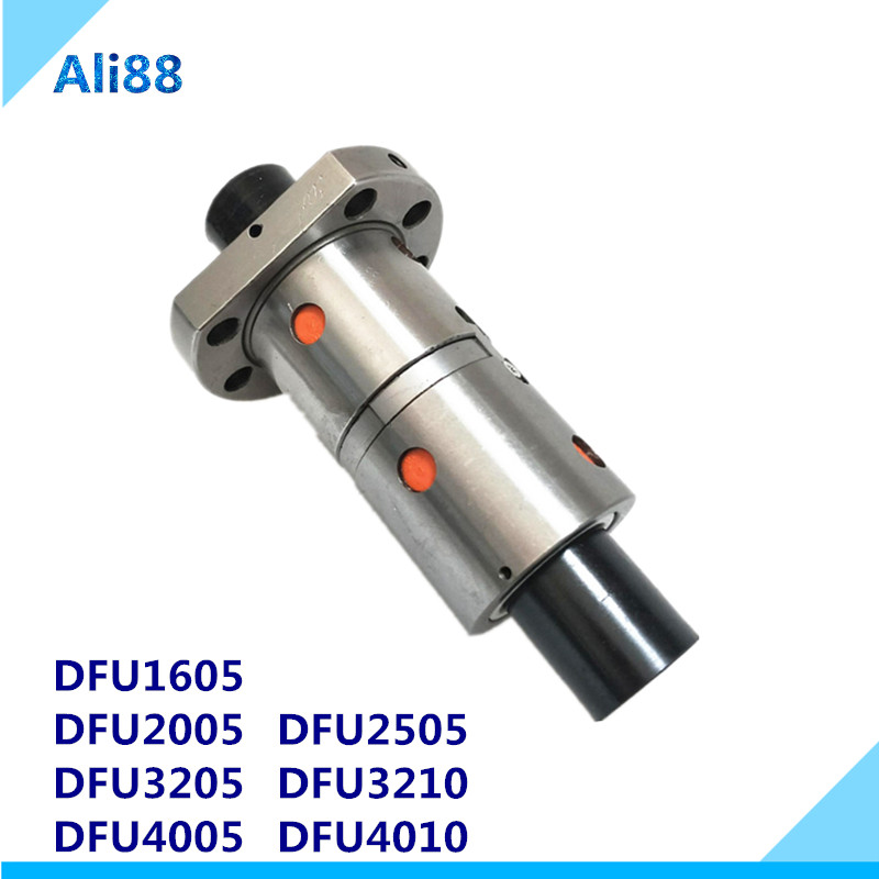 Strength, Ballscrew, DFU, Double, Nut, Ball