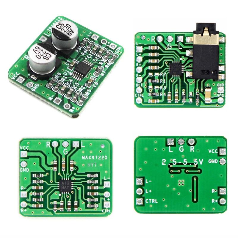 SGM4812 TPA6132 MAX97220 Headphone Amplifier Differential Balanced HIFI Module
