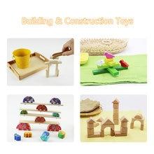 Детские строительные и игрушки материалы по методике Монтессори
