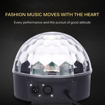Sterowanie dioda LED RGBW światło sceniczne płaskie Par może kontrola dźwięku DJ efekt sceniczny światło strona główna Disco Club światła dj-skie tanie i dobre opinie Youool CN (pochodzenie) Dmx etap światła Stage Light 110 v Profesjonalne stage dj