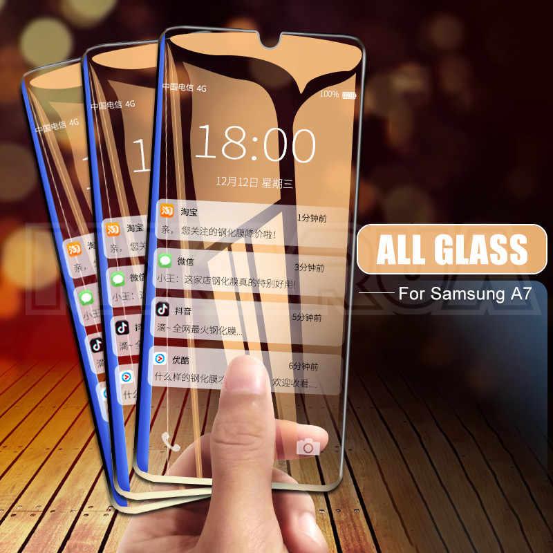 Tempered Glass untuk Samsung Galaxy A01 A11 A21 A31 A51 Pelindung Layar Kaca Samsung A41 A71 A30 A40 A50 A30S a40S A50S Kaca