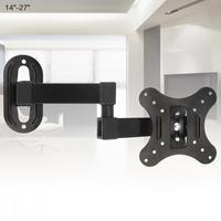 Универсальный 10 кг регулируемый настенный кронштейн для телевизора плоская панель ТВ рамка поддержка 15 градусов 14 - 27 дюймов ЖК-светодиодны...