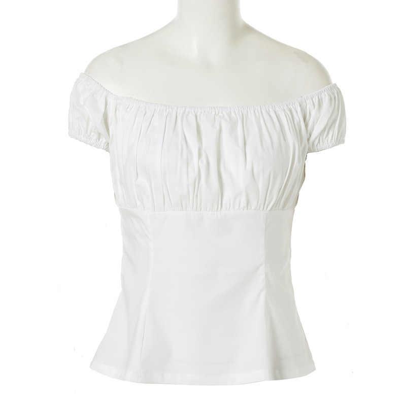 Sishion Donne T Shirt Vintage TP204 Nero Rosso Blu di Cotone Bianco T-Shirt di Trasporto Delle Signore Retrò Floreale Limone Leopardo T Delle Donne Della Camicia di magliette E Camicette