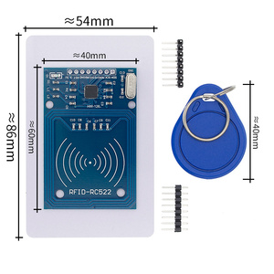Image 1 - 50pcs MFRC 522 RC522 RFID RF IC card sensor module to send Fudan card, keychain