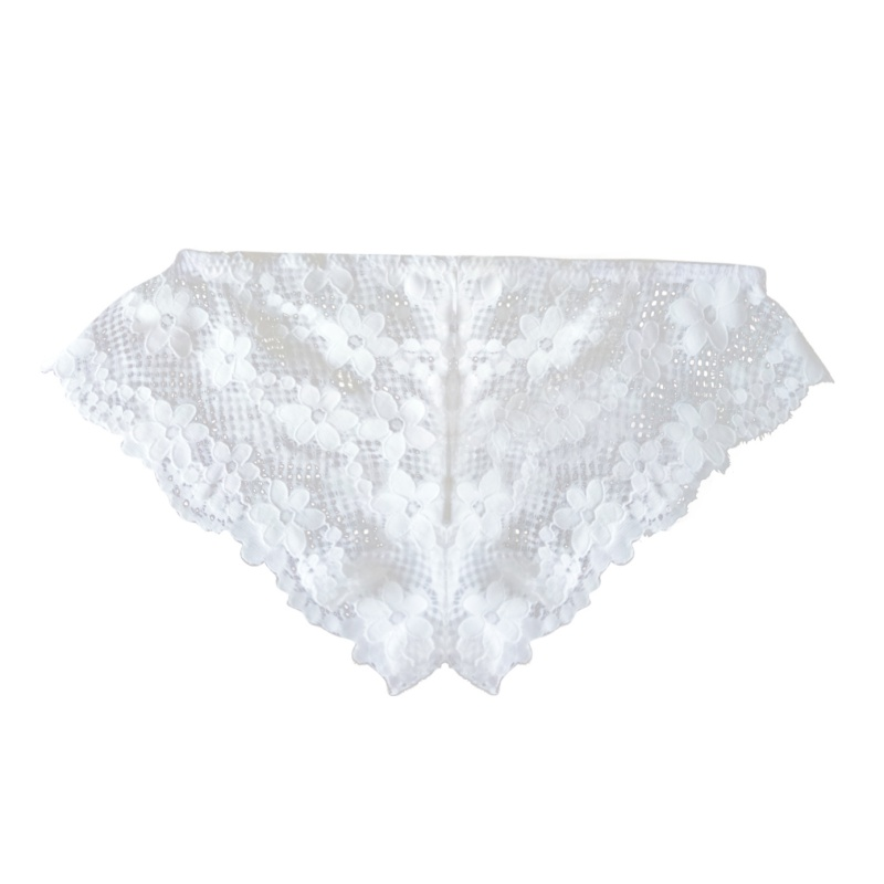 High Quality Women's Breathable Seamless Panties Lace Soft Briefs Transparent Underwear Lace Soft Briefs Sexy Lingerie