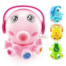 Funny Octopus Clockwork Toys Boys Baby Kids Toys Classic Cute Cartoon Animals Squid Wind Up Educational Toys For Children Gifts