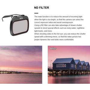 Image 3 - STARTRC Mavic Mini Lens ND4/ND8/ND16/ND32/MCUV/CPL Set Filter For Mavic Mini Drone Lens ND8 ND16 ND32 ND64 PL Accessories Kit