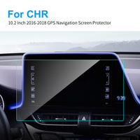 10.2 Inch for Toyota CH-R CHR 2016 - 18 Car GPS Navigation Tempered Glass Screen Protector Car Styling Auto Interior Accessories