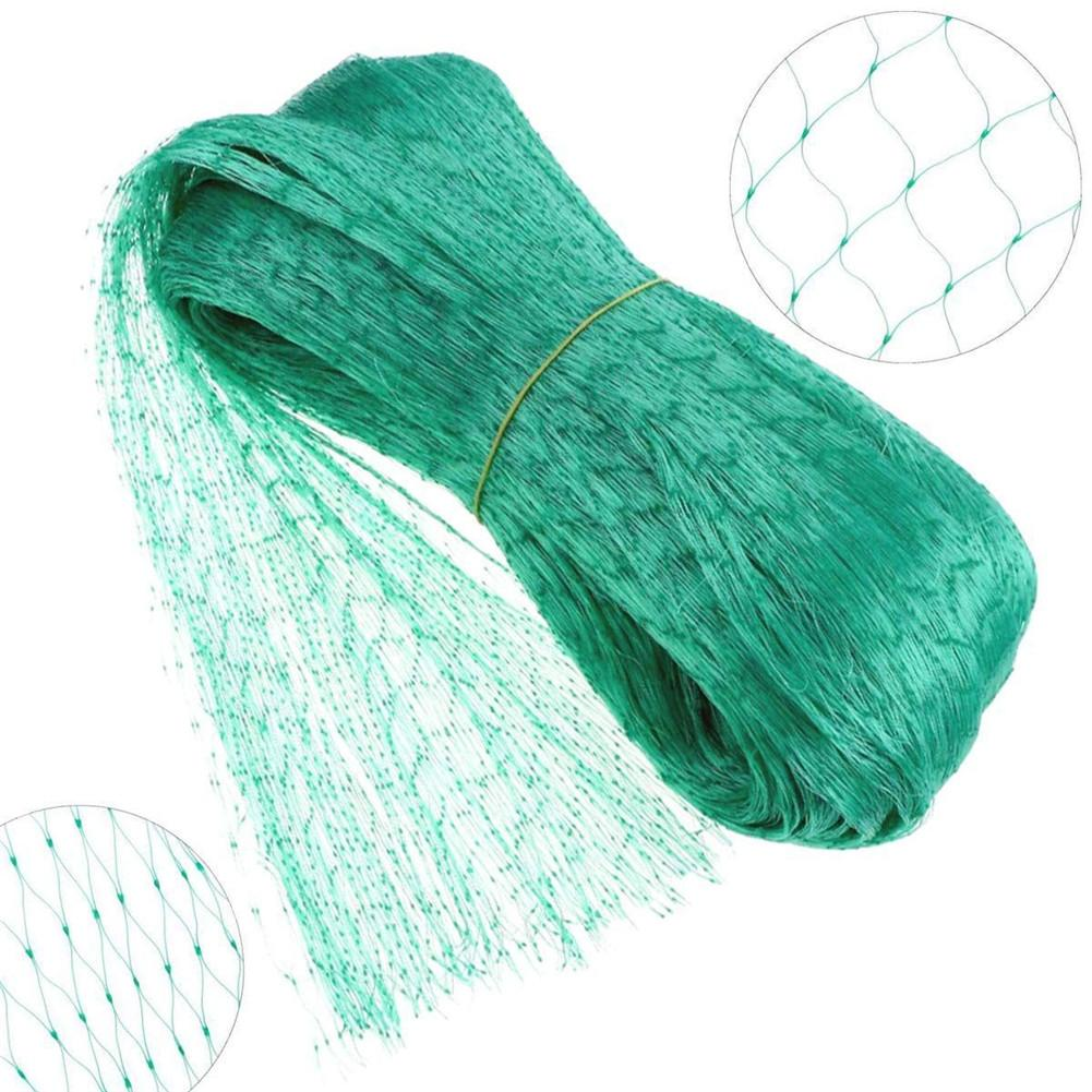 Green Anti-bird Net Garden Plant Protect PE Net No Harm to Birds for Plants Fruits Vegetables Protection Mesh <font><b>15x15mm</b></font>/ Size 4x6m image