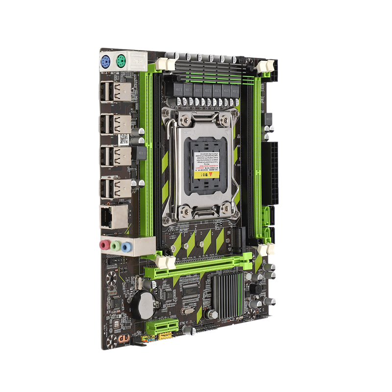 X79 Motherboard Lga 2011 4xDdr3 Dual Channel 64Gb Memory Sata 3.0 Pci-E 8Usb For Desktop Core I7 Xeon E5