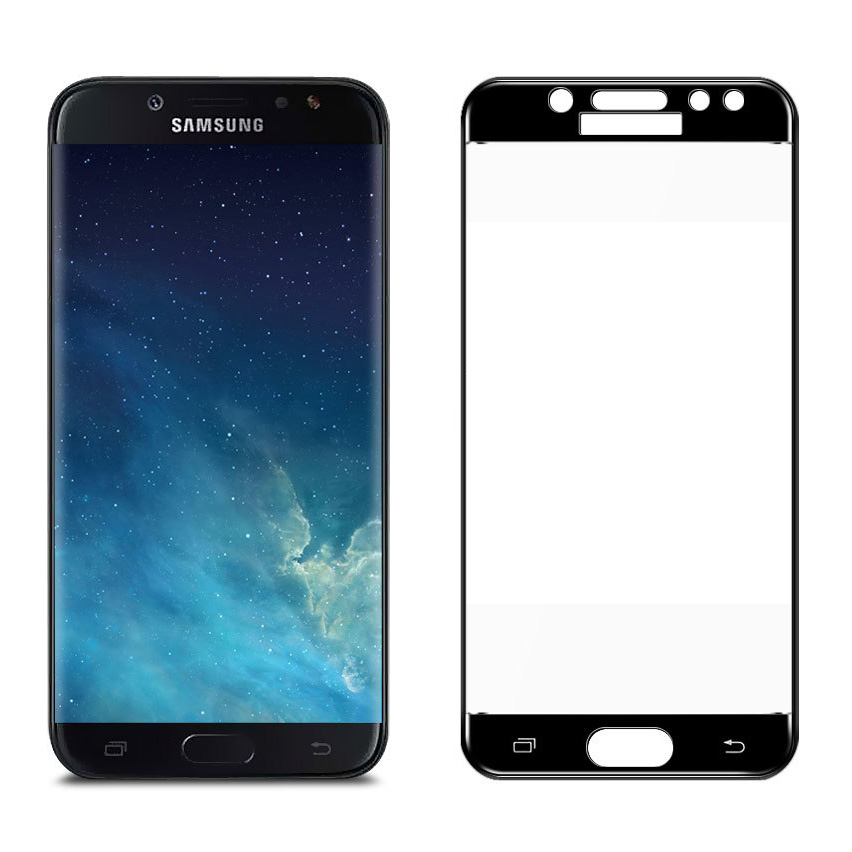 Colorfull Full Cover 9H Tempered <font><b>Glass</b></font> For <font><b>Samsung</b></font> Galaxy J5 2017 J530 J530F Screen Protector Protective Guard Film image