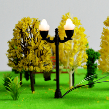 HO scale street light 3v LED diorama garden model for architectural building material the basement can adjust
