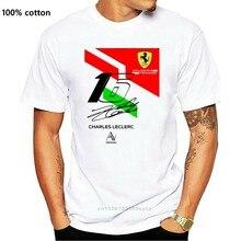 Charles Leclerc 16 Grand Prixharajuku Streetwear Shirt Menscuderia Feerrari T Shirt White For Men Women