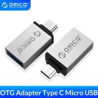 ORICO Micro b zu Typ c OTG Adapter USB-c USB 3,0 Konverter Lade Daten Sync Adapter für Xiaomi