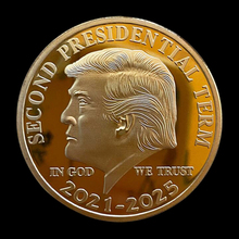Collectible-Coins Gold Coin-Donald Trump Second-Presidential Commemorative US WE Term