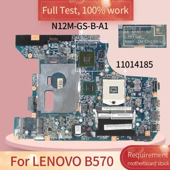 11014185 For LENOVO B570 10290-2 11014185 HM65 N12M-GS-B-A1DDR3 motherboard Mainboard full test 100% work