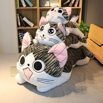 6 Styles Chi Chi's Cat Stuffed Doll Kitty Cat Plush Toys Soft Animal Dolls Cheese Cat Stuffed Toys Dolls Pillow Cushion For Kids chi s cheese cat private sweet cat papa big eyes cat plush toy doll kids toy home pillow
