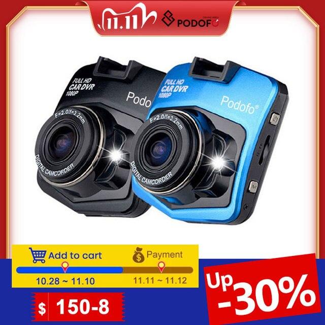 2020 yeni orijinal Podofo A1 Mini araba dvrı kamera Dashcam Full HD 1080P Video Registrator kaydedici g sensor gece görüşlü araç kamerası