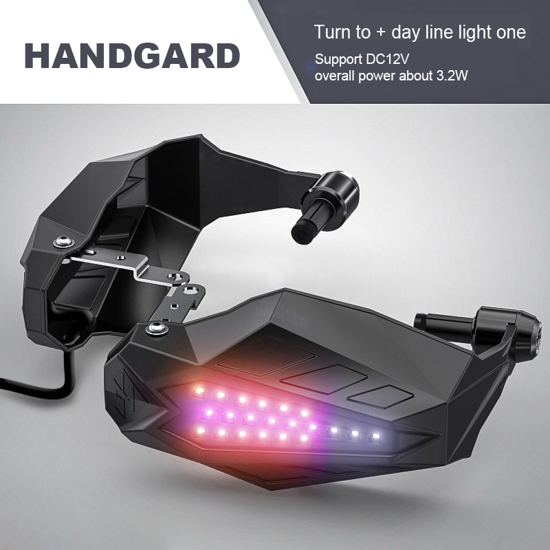 Motorcycle Hand Guard Wind Deflector Shield For Harley Touring Honda Custom USA