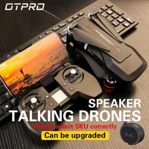 Image 5 - OTPRO dron ミニドローン fpv hd 4 18k gps rc ヘリコプター wifi カメラドローン profissional brinquedos のおもちゃ vs fimi x8 se a3