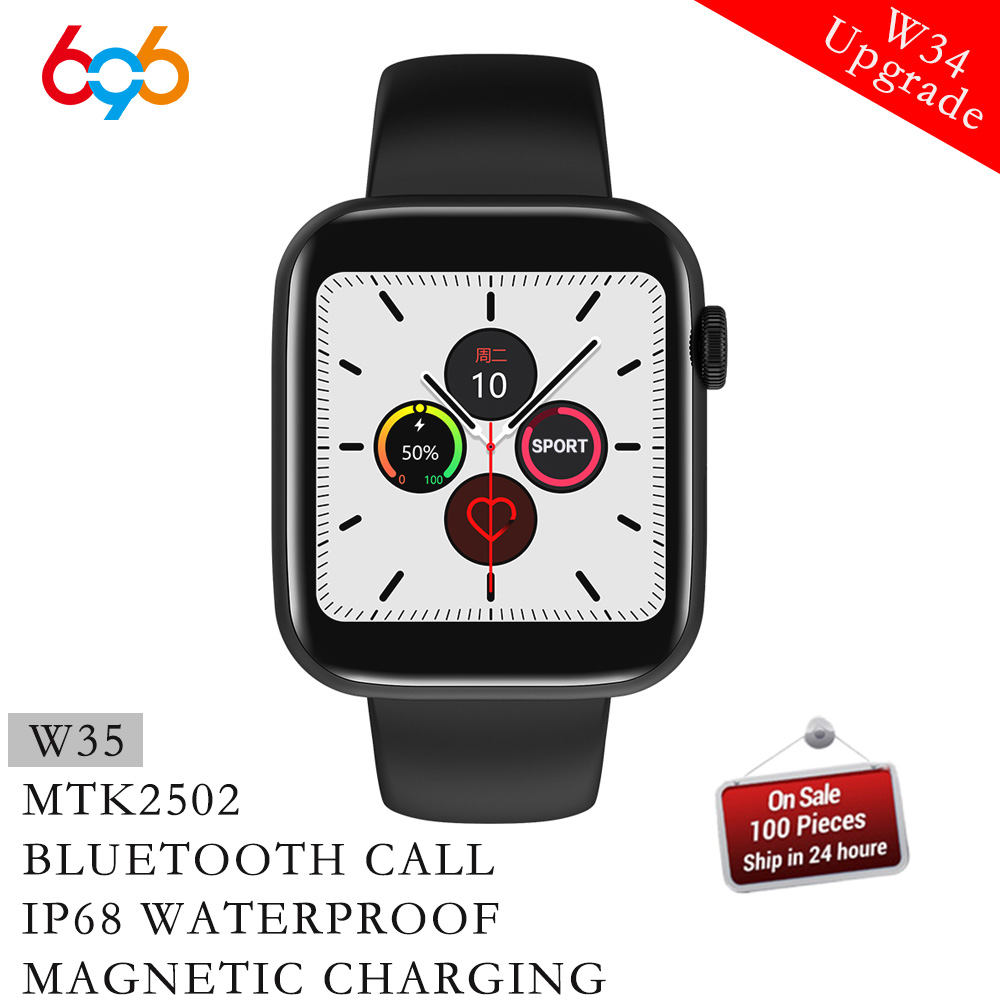 W35 IP68 a prueba de agua Bluetooth llamada Passometer SmartWatch W34 actualización reloj inteligente Monitor de ritmo cardíaco MTK2502 reloj 5 pulsera Fi XGODY ioutdoor T1 2G función de teléfono IP68 a prueba de golpes a prueba cep telefonu 2,4 ''128M + 32M GSM 2MP Cámara FM teléfono Celular 2G 2100mAh