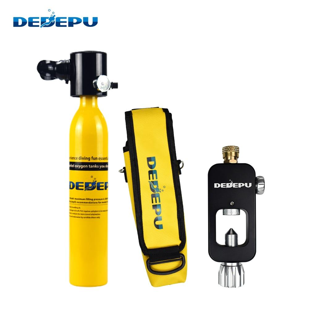 Купить мини баллон для подводного плавания dedepu 05l кислородный оборудование