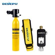 Мини баллон для подводного плавания dedepu 05l кислородный оборудование