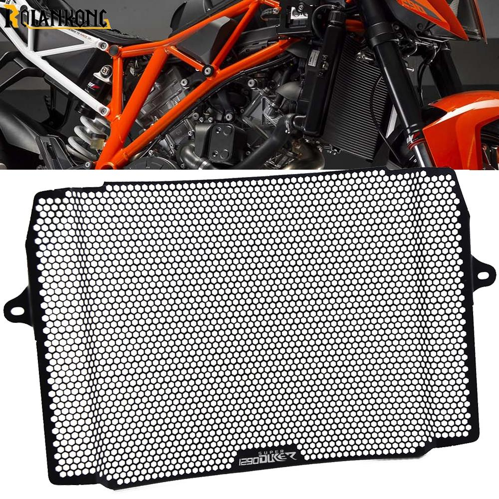 Motorcycle Radiator Grille Guard Protector Cover Protection For KTM 1290 Super Duke R Radiator Guard 2014 2015 2016 2017 2018