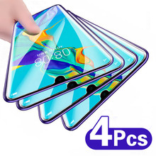 4Pcs Tempered Glass On For Huawei P40 P30 Lite P20 Pro P Smart 2019 Screen Protector For Huawei Mate 20 30 Lite Protective Film
