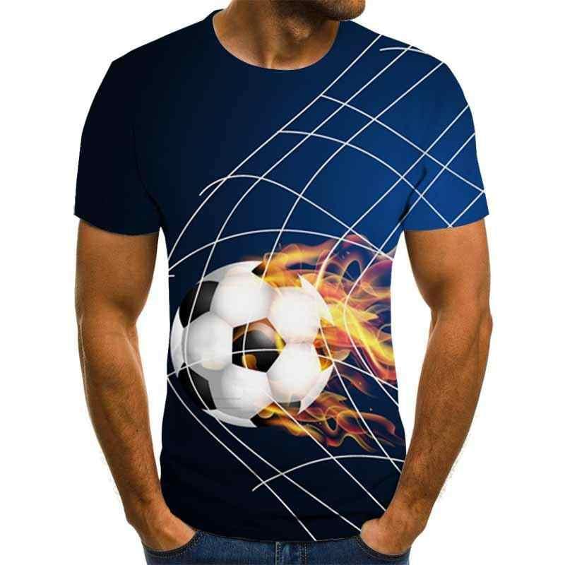 2020 חדש זכר 3d Tshirts הדפסת T Cartoon חולצות גברים קיץ מים זרוק צמרות גברים טיז מקרית Streetwear 6XL