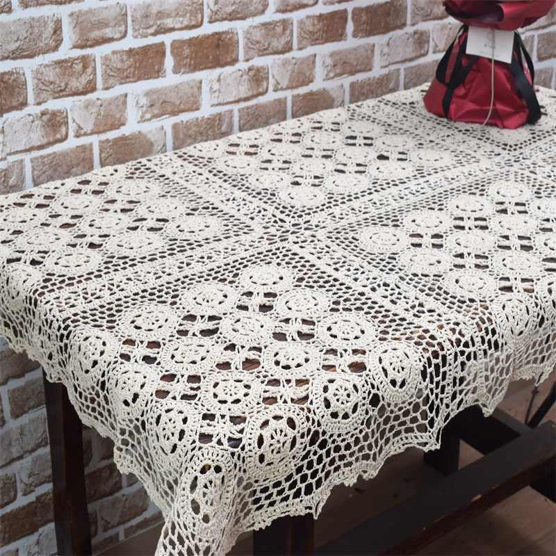 Cotton Handcraft Crochet Tablecloths