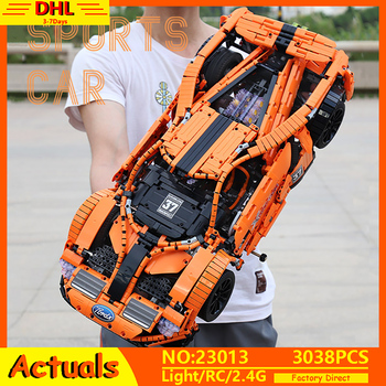APP RC Technic RC Car MOC Fords GT Mustang Race Car Model Compatible with Lepining 10792 Building Blocks Bricks Toys 20001 Gift 608pcs technic race truck car 2 in 1 transformable model building block bricks sets 3360 diy toys compatible with legoe 42041