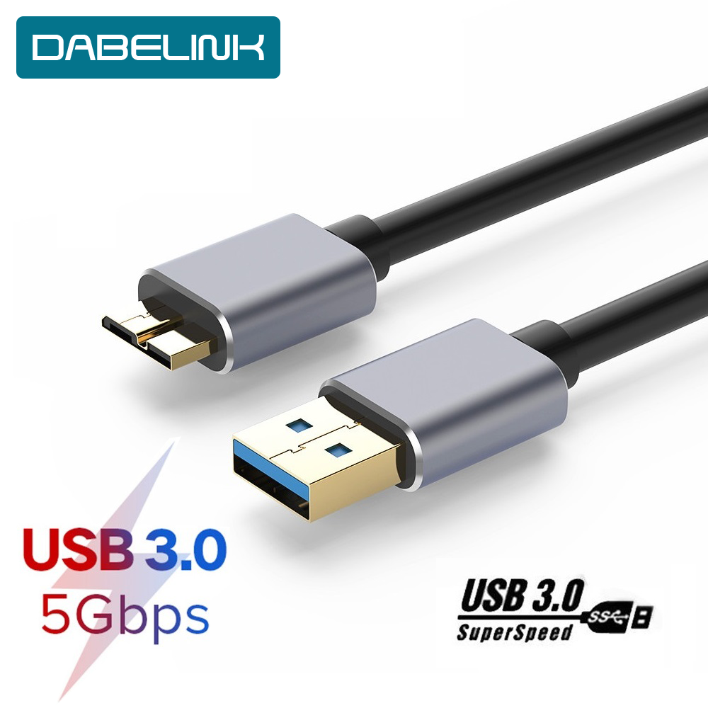 Hard Disk SSD Cable Sync Cable USB 3.0 To Micro B USB Cord External Hard Drive HDD For Samsun S5 Charging USB Hard Drive Cable