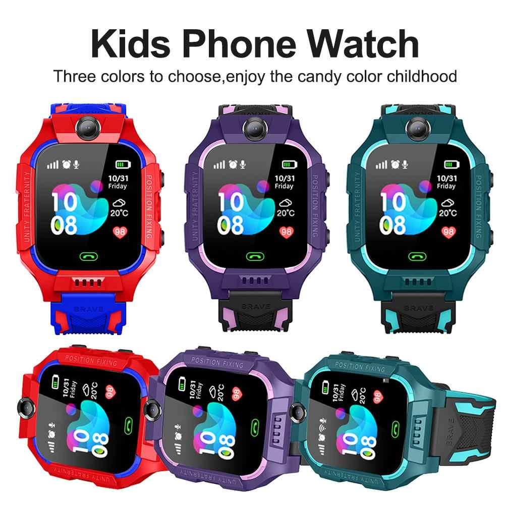 Z6 Smartwatch Children/'s Phone Locator Touch Screen Tracker SOS IOS Android LOT