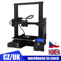 Ender 3/ Ender 3 PRO DiY 3D Printer Kit FDM Technology MK10 Extruder 220x220x250mm Size 3D Continuation Printer Off line Print