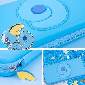 Image 5 - Nintend מתג נייד מקרה כחול חמוד אחסון תיק PU עמיד למים כיסוי מעטפת עבור Nintendo מתג לייט משחק קונסולת אבזרים