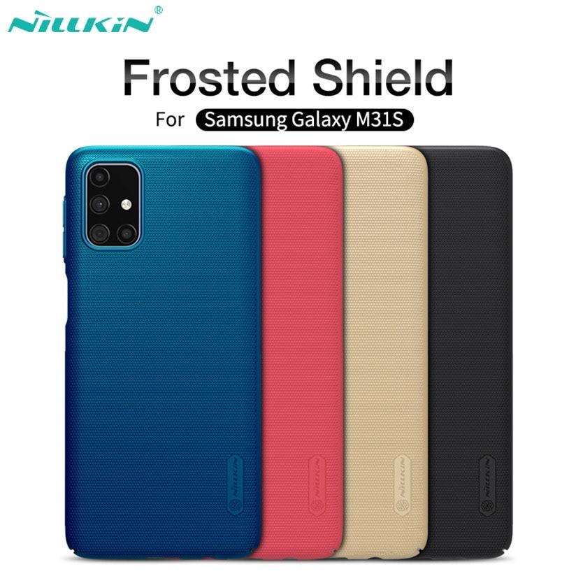 Чехол Nillkin Матовый для Samsung Galaxy M31s M51, жесткий защитный чехол из поликарбоната для телефона Samsung M51